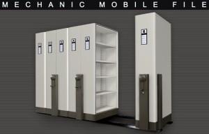 """""""Mobile File System Mekanik Alba MF-AUM 1-02"""""""
