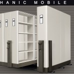 Mobile File System Mekanik Alba MF-AUM 2-01 (40 CPTS)