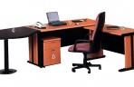 Meja Kantor Gold Series Warna Cherry-3