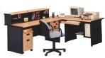 Meja Kantor Uno Classic Series Warna Beech-2