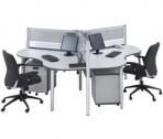 Partisi Kantor Modera Workstation 1