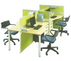 Partisi Kantor Modera Work Station 8