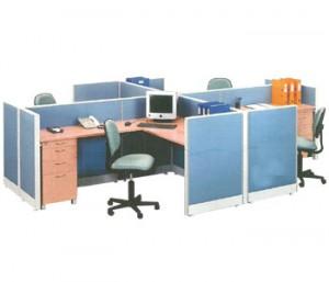 """Partisi Kantor Uno 4 Staff Configuration"""
