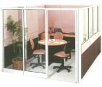 Partisi Kantor Uno Meeting Configuration