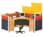 Partisi Kantor Uno Secretary Configuration