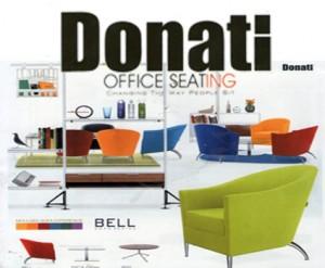 """Sofa Kantor Donati Bell Series"""