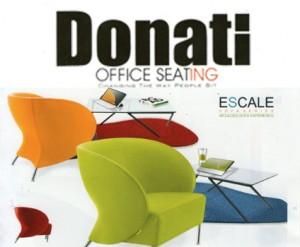 """Sofa Kantor Donati Escale Series"""