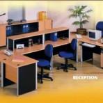 Meja Modera Reception (E Class)