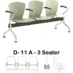 Kursi Public Seating Indachi D – 11 A 3 Seater