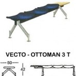 Kursi Public Seating Indachi VECTO – OTTOMAN 3 T