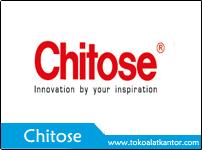 Merk Chitose - Toko Alat Kantor - Distributor Furniture dan Alat Kantor