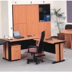 Meja Kantor Gold Series Warna Cherry-4