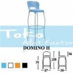 Kursi Bar Dan Cafe Savello Domino H