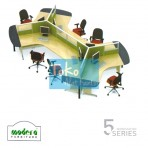 Modera 5 Workstation – 6 Workstation Series