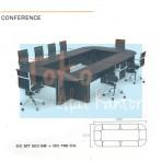 Grand Furniture Workstation Diva – Conference Brown 3