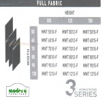 Modera 3 Workstation Full Fabric Part