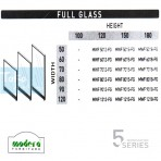 Modera 5 Workstation Full Glass