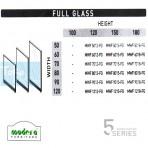 Modera 5 Workstation Full Glass