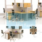 Grand Furniture Workstation Grand Partition System Office 1