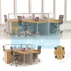 Grand Furniture Workstation Grand Partition System Office 2