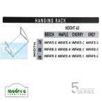Modera 5 Workstation Hanging Rack