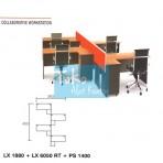 Grand Furniture Workstation Lexus – Collaborative Work Station 3