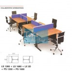 Grand Furniture Workstation Lexus – Collaborative Work Station2