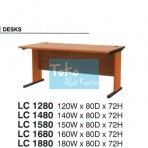 Grand Furniture Workstation Lexus – Desk LC 1280, LC 1480, LC 1580, LC 1680, LC 1880
