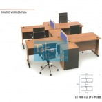 Grand Furniture Workstation Lexus – Shared Work Station 2