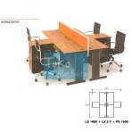 Grand Furniture Workstation Lexus – Work Center