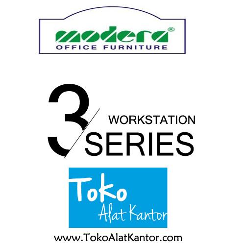 Modera 3 Work Station Series Toko Alat Kantor