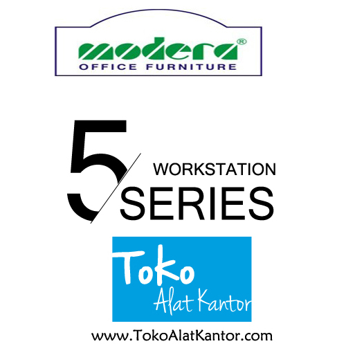 Modera 5 Work Station Series Toko Alat Kantor