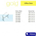 Gold Series Office Desk OUD 4052