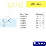 Gold Series Side Desk UOD 4056