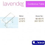 Uno Lavender Series Conference Table UCT 8772, UCT 8773