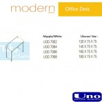 Uno Modern Series Office Desk UOD 7062