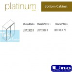 Uno Platinum Series Bottom Cabinet UST 2352 B, UST 2362 B