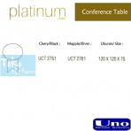 Uno Platinum Series Conference Table UCT 2751, UCT 2761