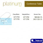 Uno Platinum Series Conference Table UCT 2754, UCT 2764