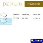 Uno Platinum Series Filling Cabinet UFL 2252, UFL 2262