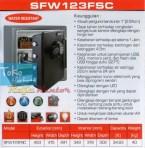 Brankas Sentry SFW 123 FSC