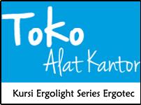 Kursi Ergolight Series Ergotec - Toko Alat Kantor