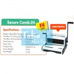 Mesin Binding (Jilid) Secure Comb-24