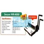 Mesin Binding (Jilid) Secure WR-4000