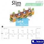 Uno Slim Series Configuration C