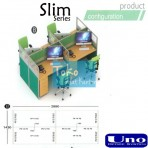 Uno Slim Series Configuration B