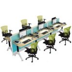 Partisi Kantor Donati 2,5cm 6 Chairs
