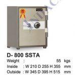 Brankas Indachi D-800 SSTA