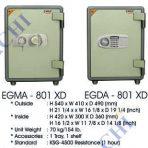 Brankas Indachi EGMA-801 XD