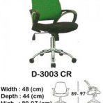Kursi Kantor (Staff & Sekretaris) Indachi D-3003 CR 2